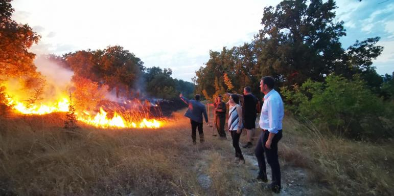 пожар-свиленград